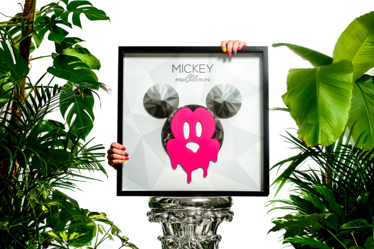 Mickey Meltdown - Graphic Art